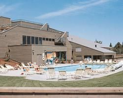 Beautiful pool at WorldMark Eagle Crest